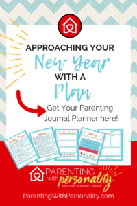 72 Page Parenting Journal Planner