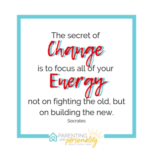 Focus All Your Energy On Building the New