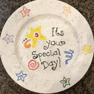 Special Day Plate