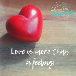 Love is more than a feeling