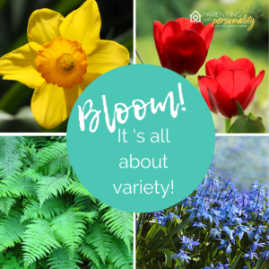 Bloom, it's all about variety