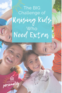 Kids who need extra