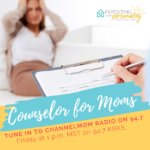 Jami Kirkbride counselor for moms on Channel Mom Radio