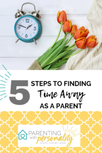 finding time as a parent