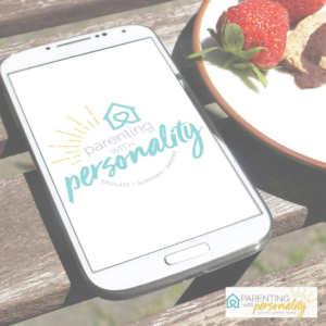 parenting with personality available on phone